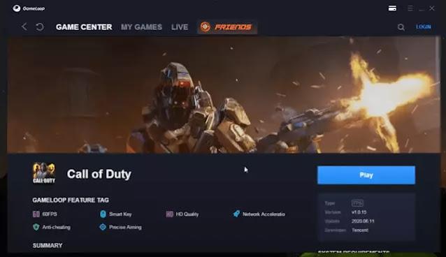 تشغيل لعبة Call of Duty للكمبيوتر 2020