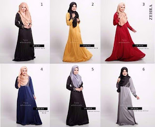 ZEHRA Premium Jubah SOLD OUT
