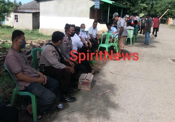Bhabinkamtibmas Desa Banggae-Desa Topejawa , Sosialisasi Terkait Penularan Wabah Covid-19 Pada Warga Binaannya