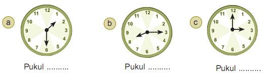 Contoh Soal Matematika 3 SD Dalam Pengukuran