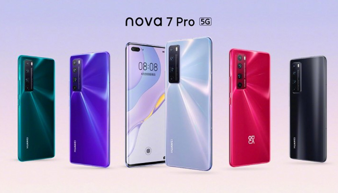 HUAWEI Nova 7 Pro 5G and Nova 7 5G Comes with 8GB RAM and a 64MP Quad Camera