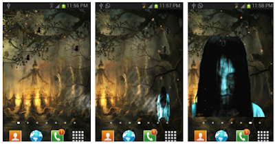 Scary Halloween Live Wallpaper