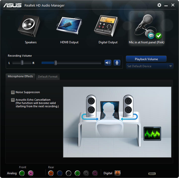 realtek hd audio manager not showing in control panel