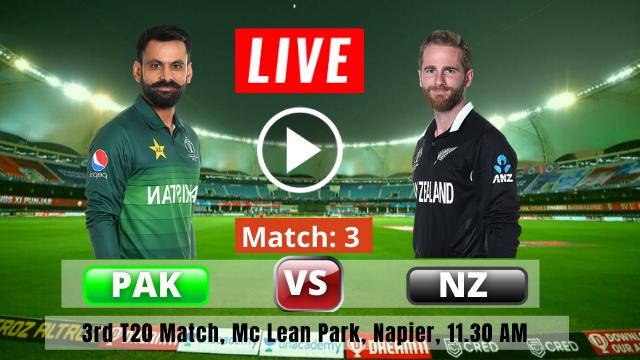 New Zealand vs Pakistan, 3rd T20I , New Zealand vs Pakistan T20 Series 2020-2021