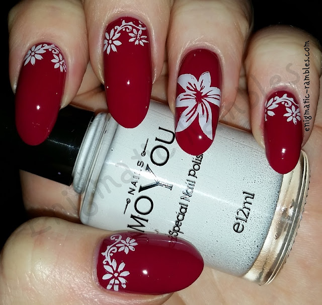stamped-floral-nails-nail-art-moyou-422