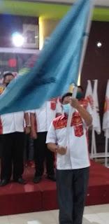 Drs. GM Utut Adianto Ketum PB Percasi Melantik Kepengurusan Pengprov Percasi Provinsi Jambi Masa Bakti 2020-2024.