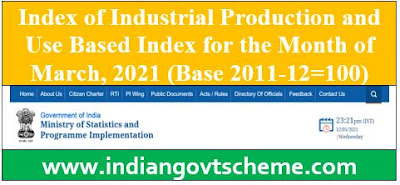 Index of Industrial Production and Use Based Index