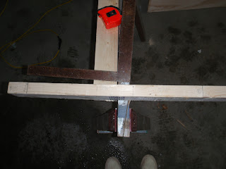 Stations on building jig