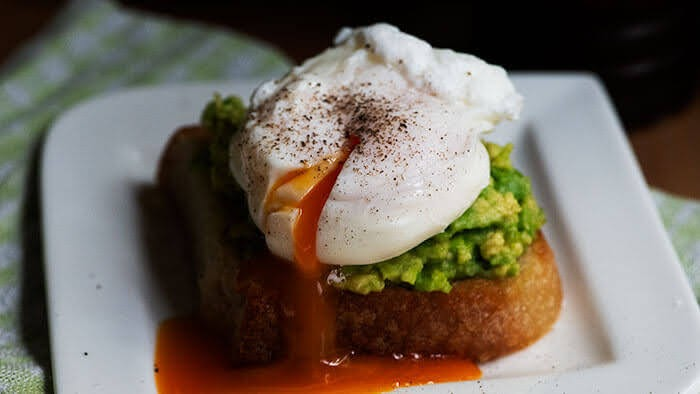 eggs poached