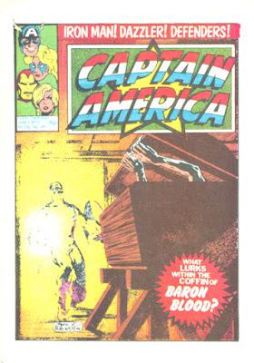 Captain America #15, Baron Blood