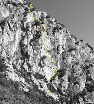 escalada, pic del martell, ressenyes, funklimbs, maneras de vivir, croquis, castelldefels