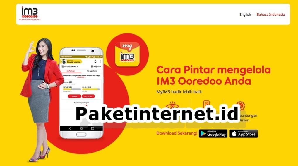 Cara Cek Kuota Indosat via Website