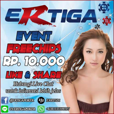 Freebet Poker idr 10000 dari ERTIGAPOKER