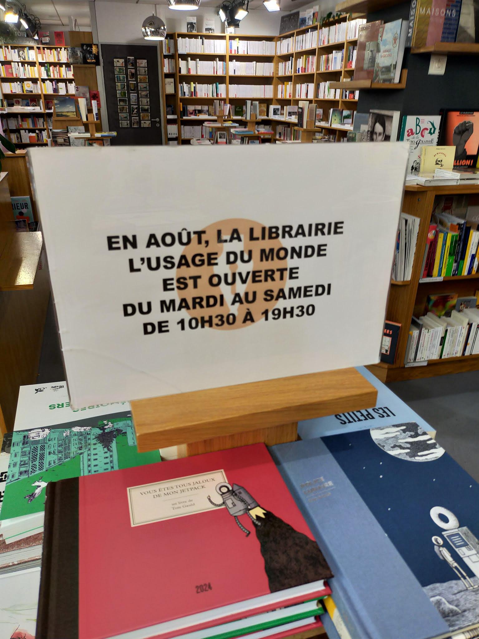 L Usage Du Monde Librairie : usage, monde, librairie, Librairie, L'Usage, Monde, Paris
