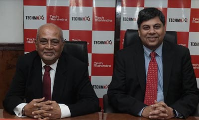Sujit Baksi, Head APAC Business and President Corporate Affairs, Tech Mahindra & Puneet Gupta, Head-India Sales Tech Mahindra