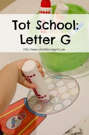 Tot School Letter G