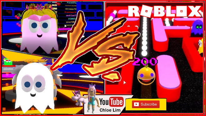 Roblox Pac-Blox Gameplay! Why Chocolate always gets to be PAC BLOX! Chocolate Vs ME!
