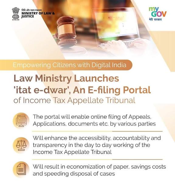 online-e-filing-portal-of-itat-launched