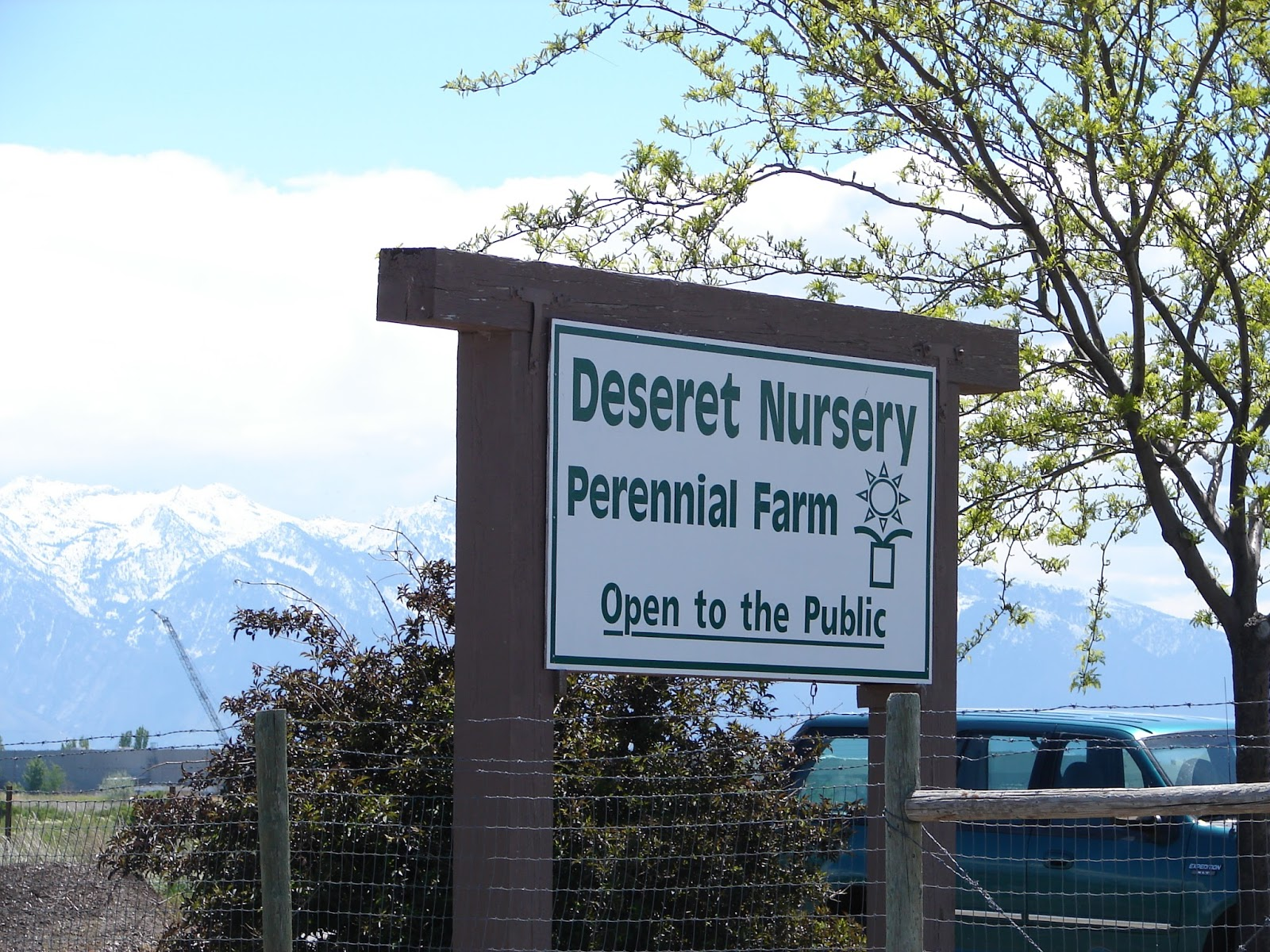 Nurseries in salt lake city - View Of The Wasatch Mountains From Deseret Nursery Perennial Farm Salt Lake City Utah