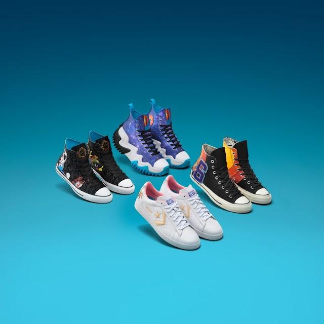 Space Jam: nueva colección de Converse inspirada en personajes de Warner