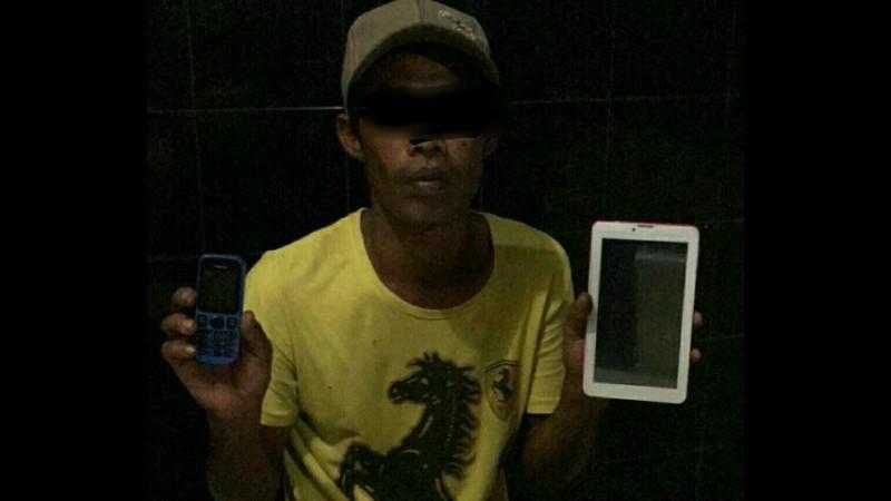 Puji Anugrah Laksono ditangkap di Riau
