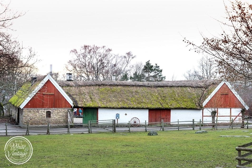 Freilichtmuseum in Stockholm