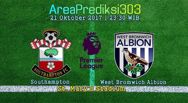 Prediksi Skor Southampton vs West Brom 21 Oktober 2017