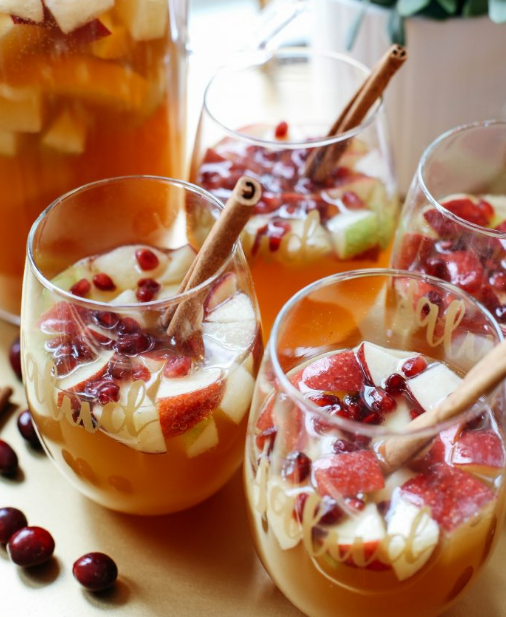 FALL HARVEST SANGRIA #drink #sangria #cocktail #healthhydrink #easy