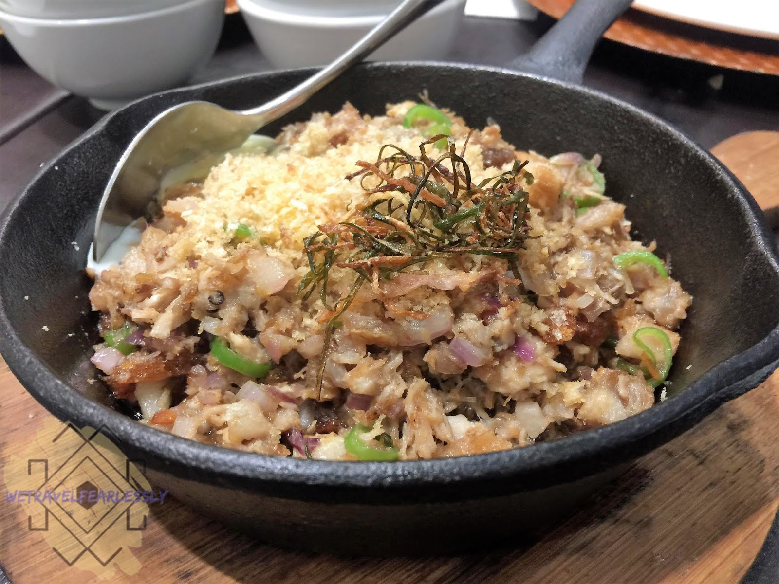 Lechon Sisig in XO 46 Heritage Bistro in S Maison, Pasay City