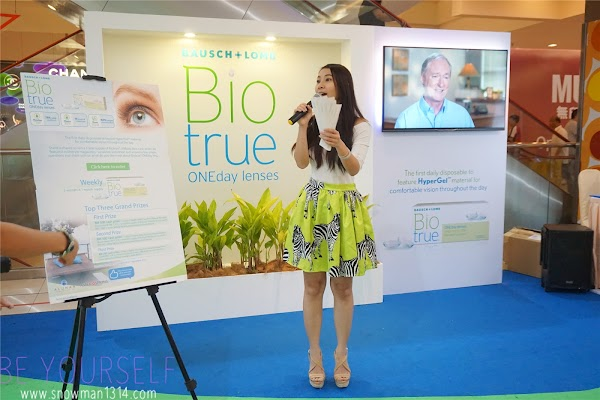 Bausch + Lomb Biotrue® ONEday Lenses Launch Event @ 1 Utama