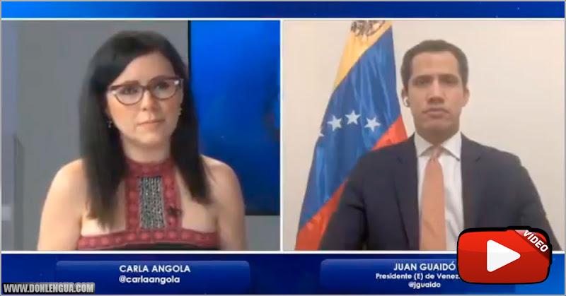 Juan Guaidó niega que esté preparando todo para vivir resguardado en una embajada