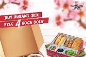 Promo Marugame Udon GRATIS 4 Coca Cola Tiap Pembelian JUBAKO BOX