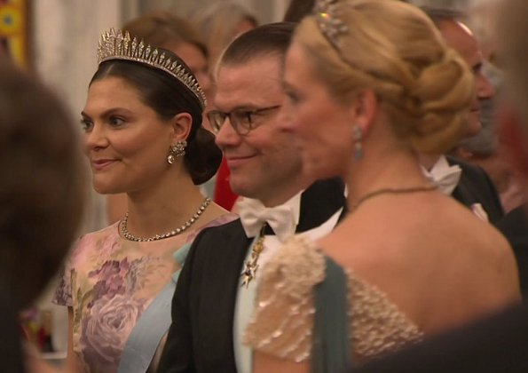 Crown Princess Mary, Princess Marie, Queen Silvia, Crown Princess Victoria, Crown Princess Mette-Marit, Queen Maxima, Queen Mathilde at gala