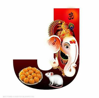 Ganesha-alphabet-J-images-download