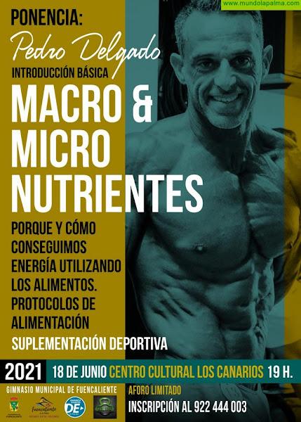 El Ayuntamiento de Fuencaliente organiza una charla sobre alimentación destinada a mejorar los rendimientos deportivos y personales