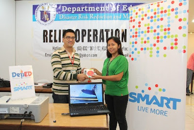 DepEd taps Smart to power disaster response center