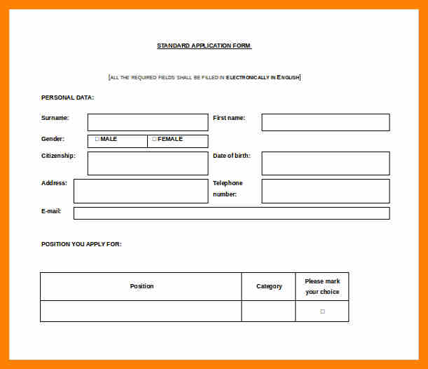 Leave Application Form For Company  Format Of Leave Application Form