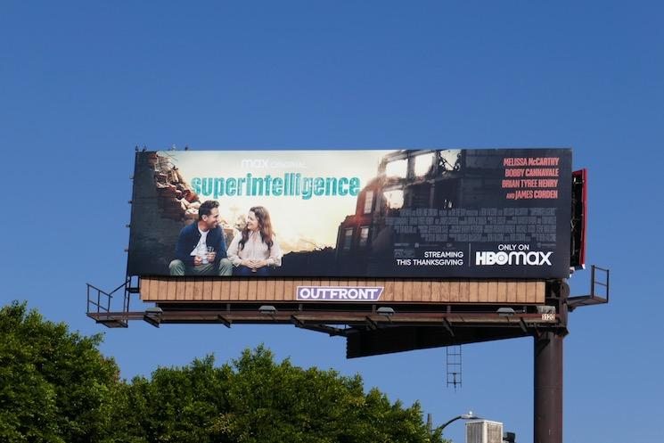 Superintelligence HBO Max billboard