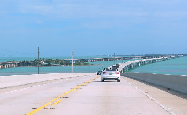 Florida -Seven miles bridge