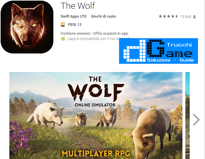 Trucchi The Wolf  Mod Apk Android v1.0.2