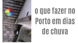 Guarda chuva no Porto