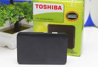 Jual Harddisk Eksternal Toshiba 1 TB  ( USB 3.0 )