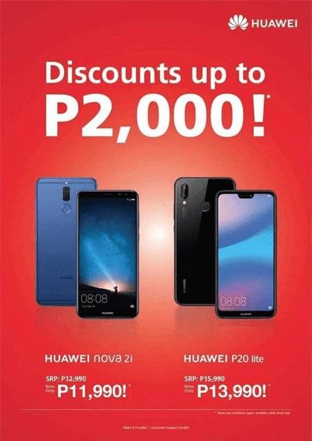 Huawei Nova 2i, P20 Lite Drop Price!