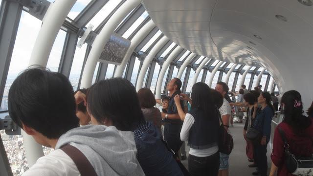 Tokyo Skytree - Aussichtsplattform