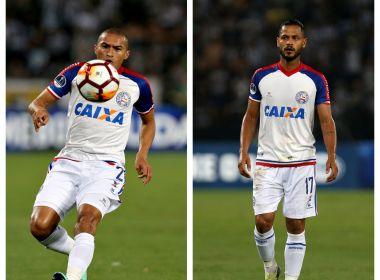 eba40851f9 Diretor de futebol do Bahia confirma renovação de Nino e Elton  Edson  liberado