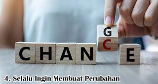 Selalu Ingin Membuat Perubahan merupakan salah satu fakta unik generasi milenial