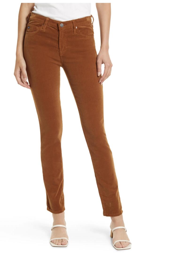 Prima Corduroy Skinny Pants