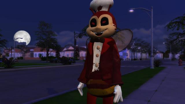 Sims 4 Jollibee Mascot CC Download