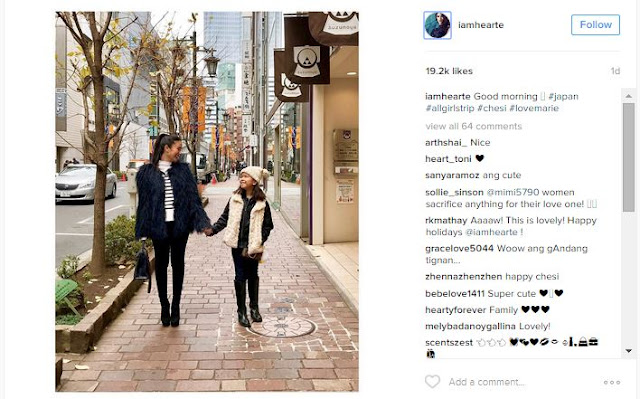 Heart Evangelista Spends Quality Time With Chiz' Daughter In An All-Girls Trip To Japan