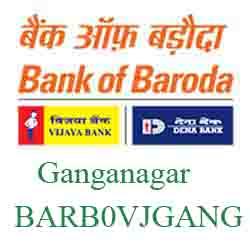Vijaya Baroda Bank Ganganagar Branch New IFSC, MICR
